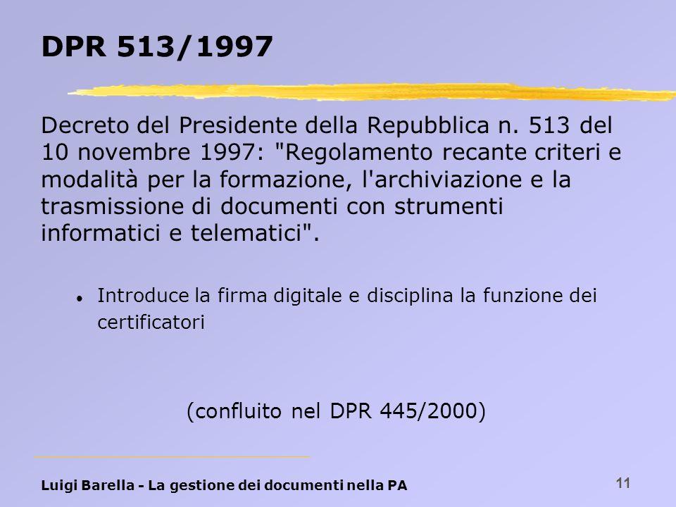 DPR 513/1997
