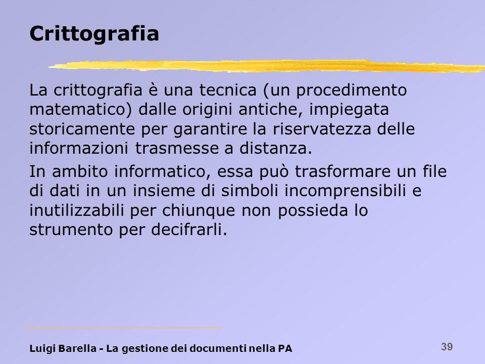 Crittografia