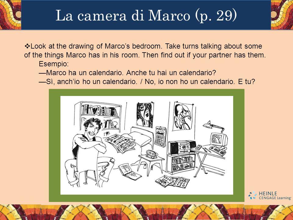 La camera di Marco (p. 29)