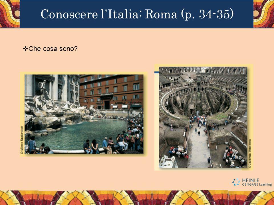 Conoscere l'Italia: Roma (p. 34-35)
