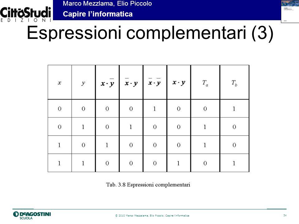 Espressioni complementari (3)