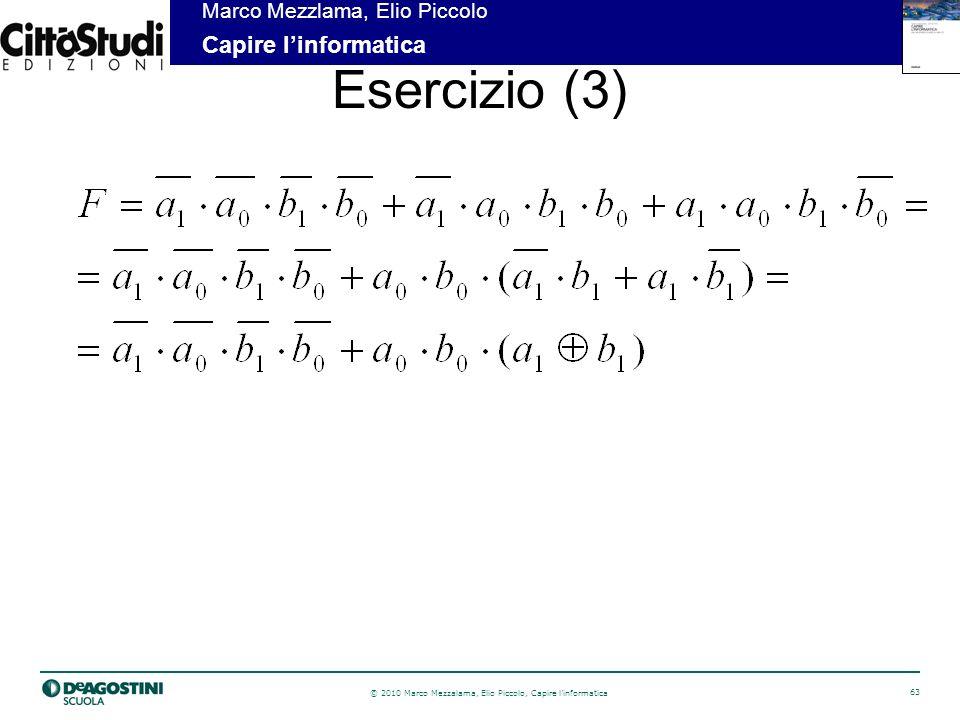 Esercizio (3)