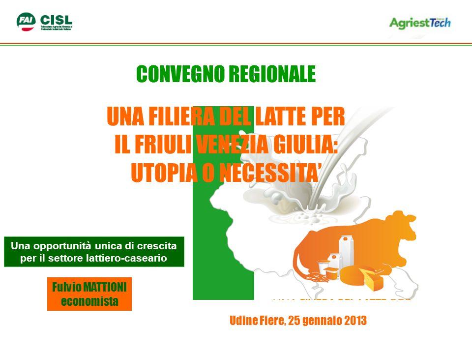 Una opportunità unica di crescita per il settore lattiero-caseario