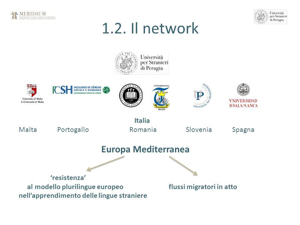1.2. Il network Europa Mediterranea Italia