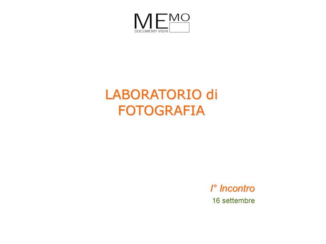LABORATORIO di FOTOGRAFIA