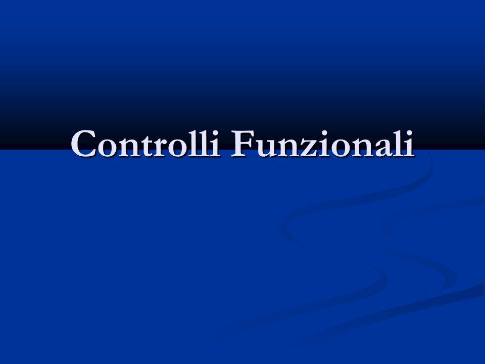 Controlli Funzionali