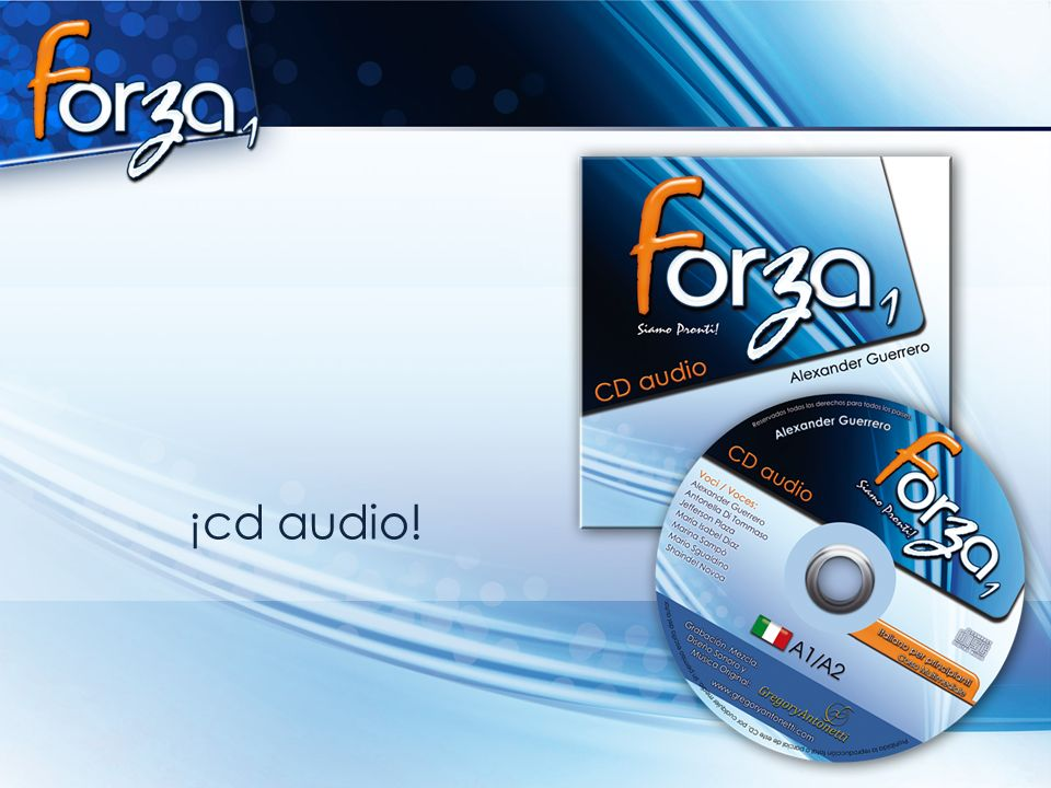 ¡cd audio!