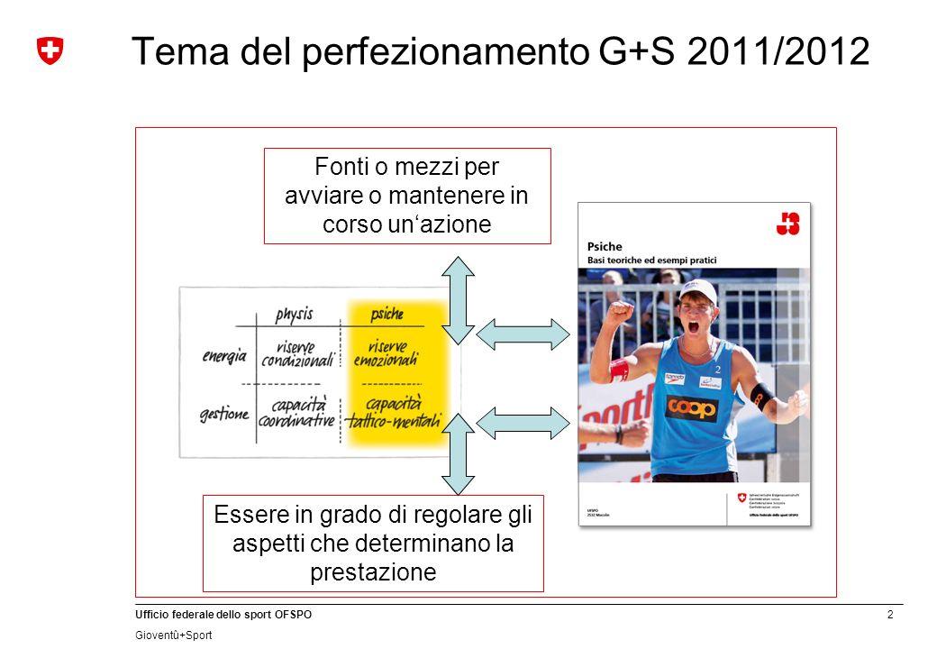 Tema del perfezionamento G+S 2011/2012