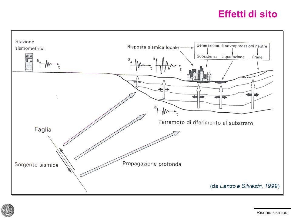 Effetti di sito (da Lanzo e Silvestri, 1999)