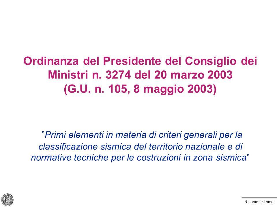 Ordinanza del Presidente del Consiglio dei Ministri n