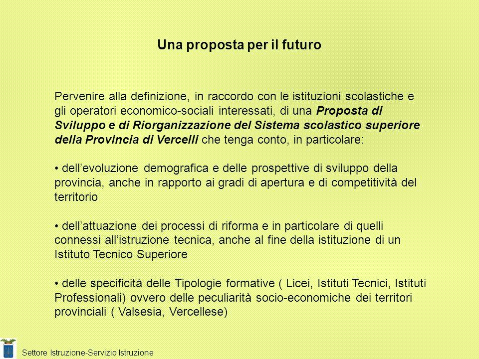 Una proposta per il futuro