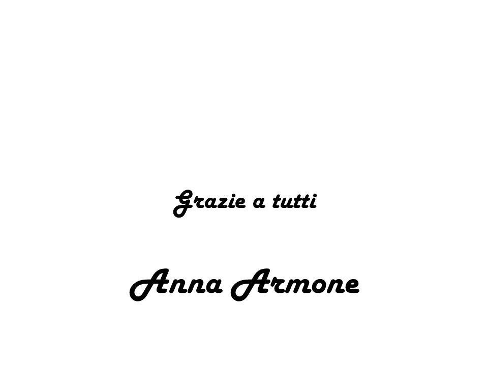 Grazie a tutti Anna Armone