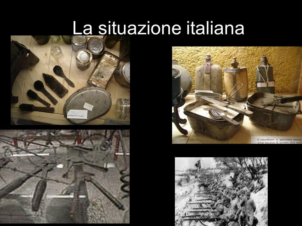 La situazione italiana