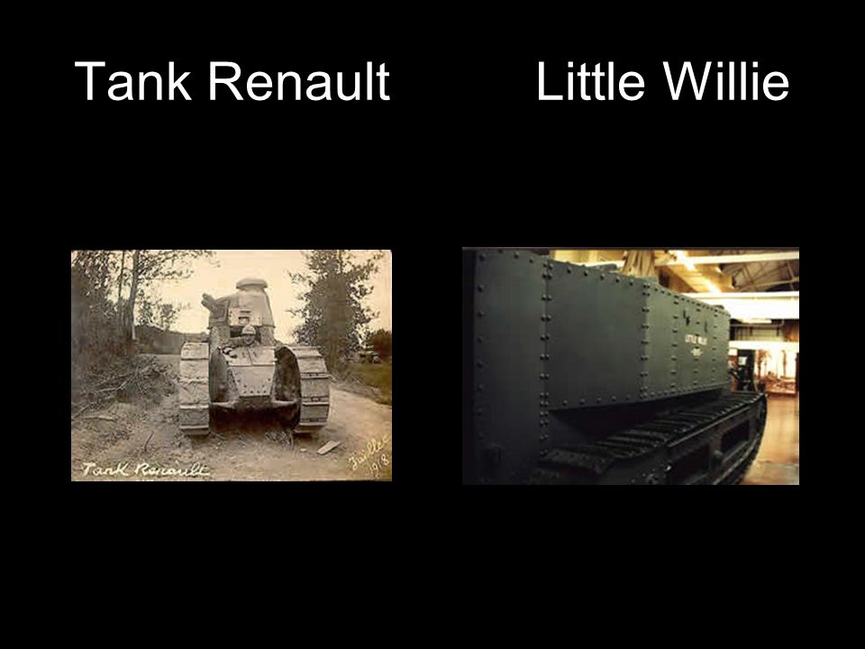 Tank Renault Little Willie