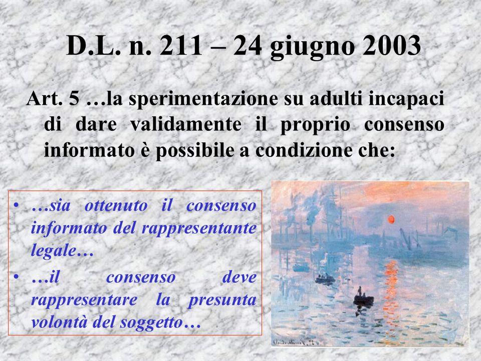 D.L. n. 211 – 24 giugno 2003