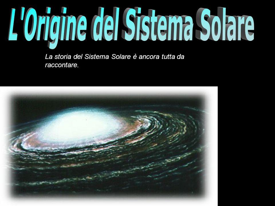L Origine del Sistema Solare