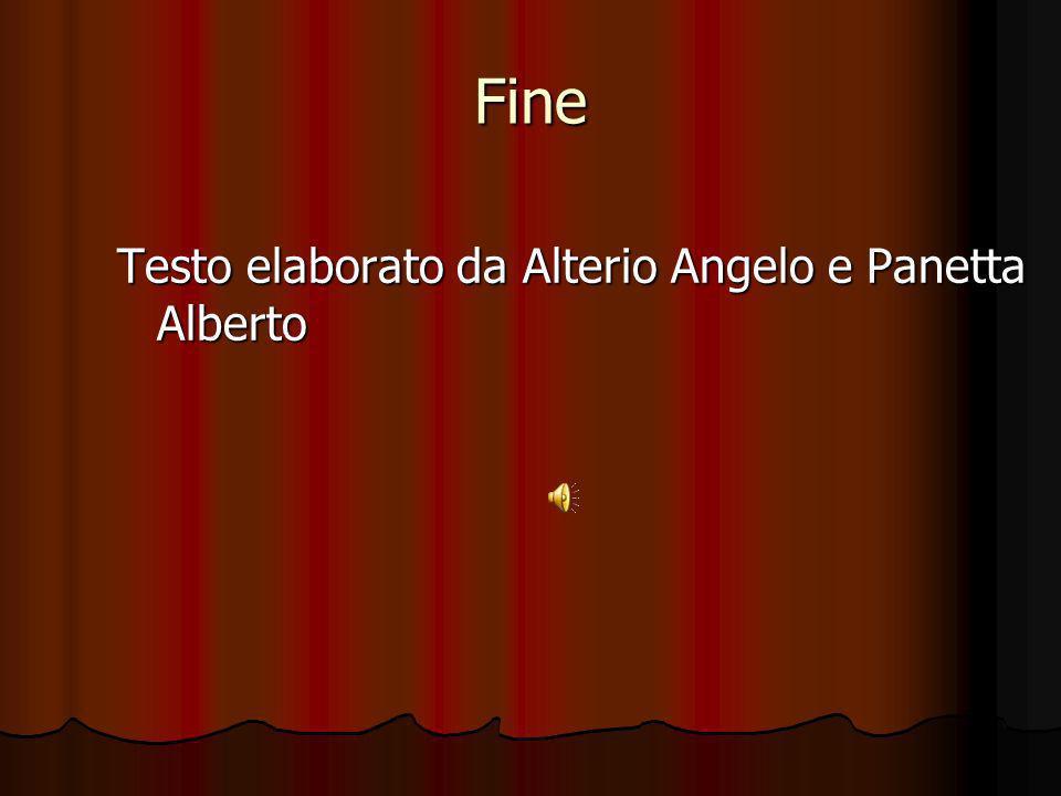 Fine Testo elaborato da Alterio Angelo e Panetta Alberto