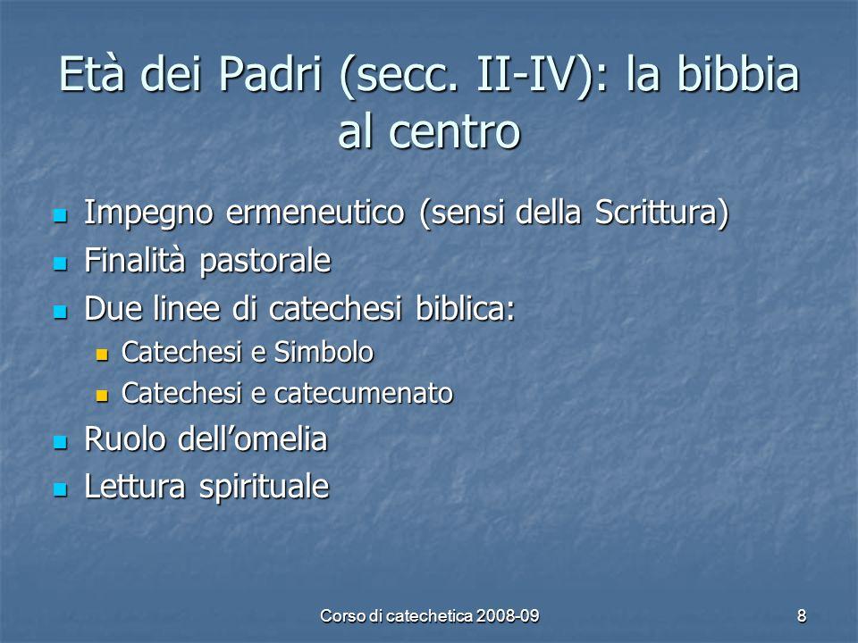 Età dei Padri (secc. II-IV): la bibbia al centro