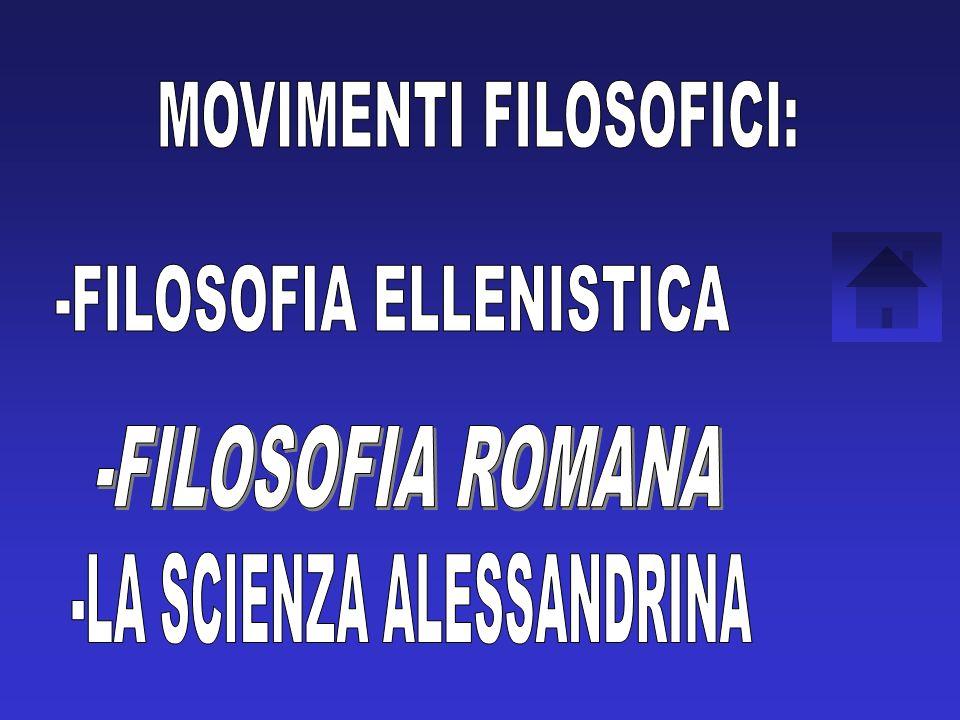 MOVIMENTI FILOSOFICI: