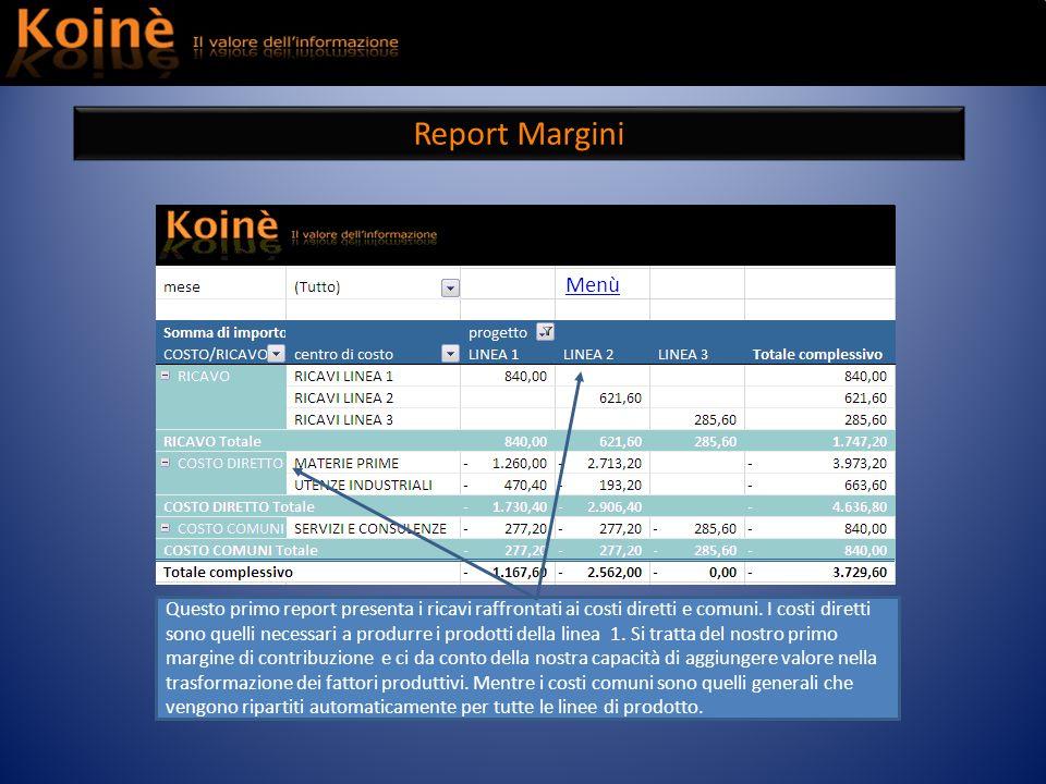 Report Margini