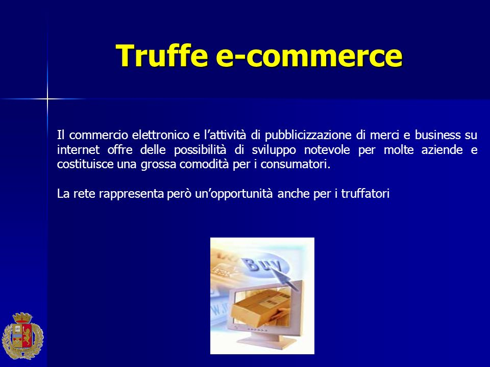 Truffe e-commerce