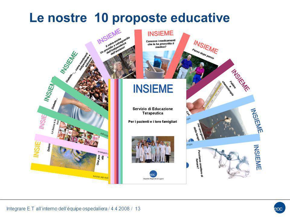Le nostre 10 proposte educative