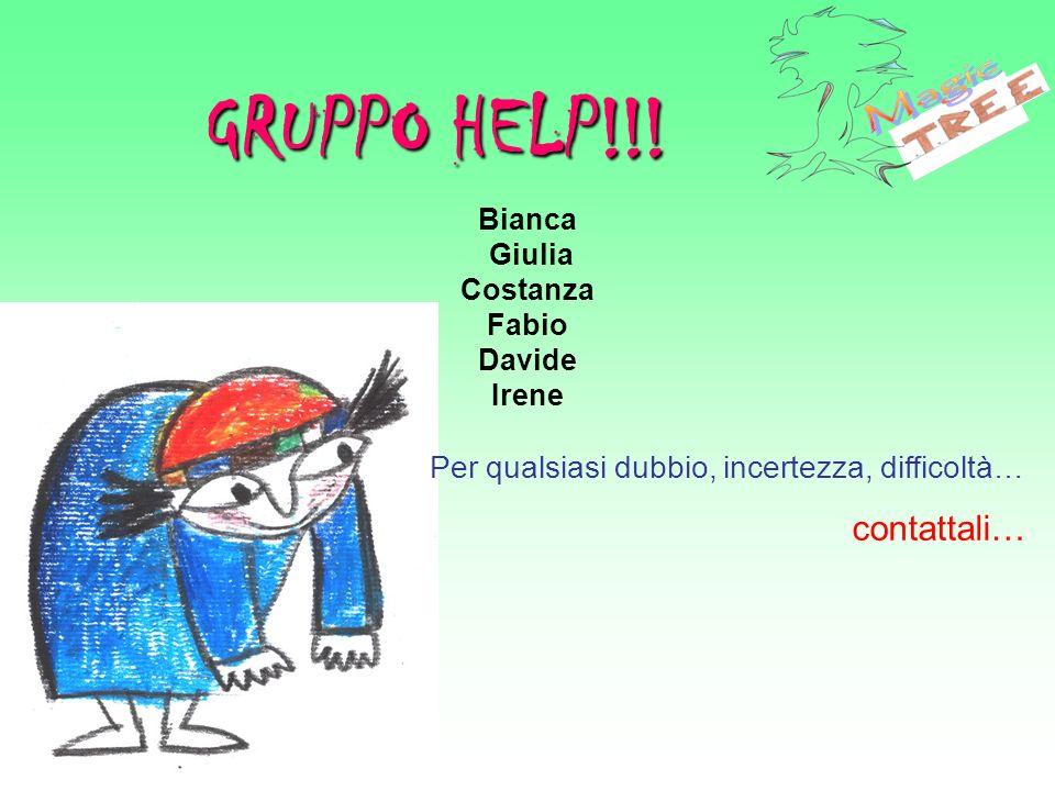 GRUPPO HELP!!! Magic Per qualsiasi dubbio, incertezza, difficoltà…