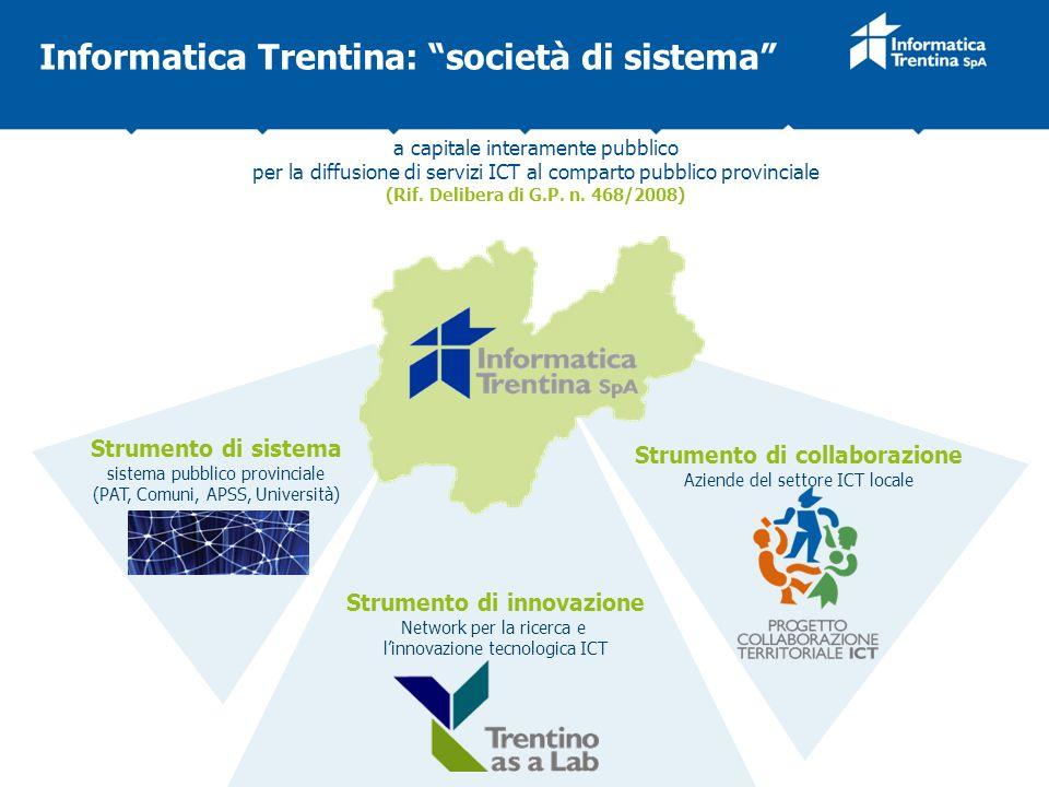 Informatica Trentina: società di sistema
