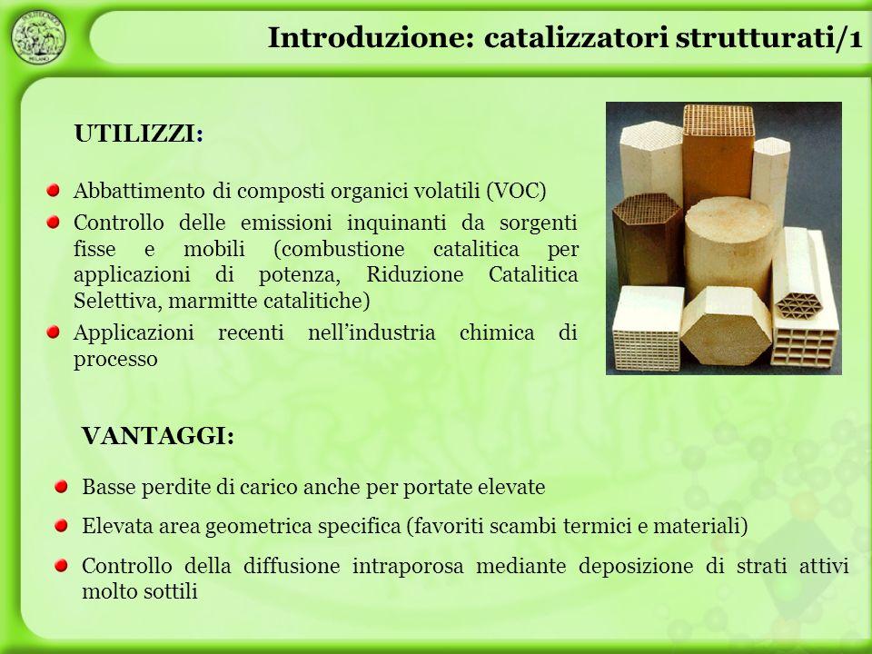 Introduzione: catalizzatori strutturati/1