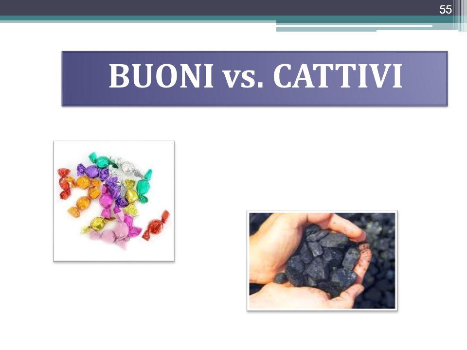 BUONI vs. CATTIVI