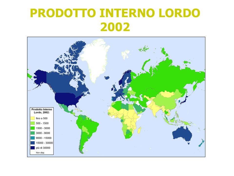 PRODOTTO INTERNO LORDO 2002