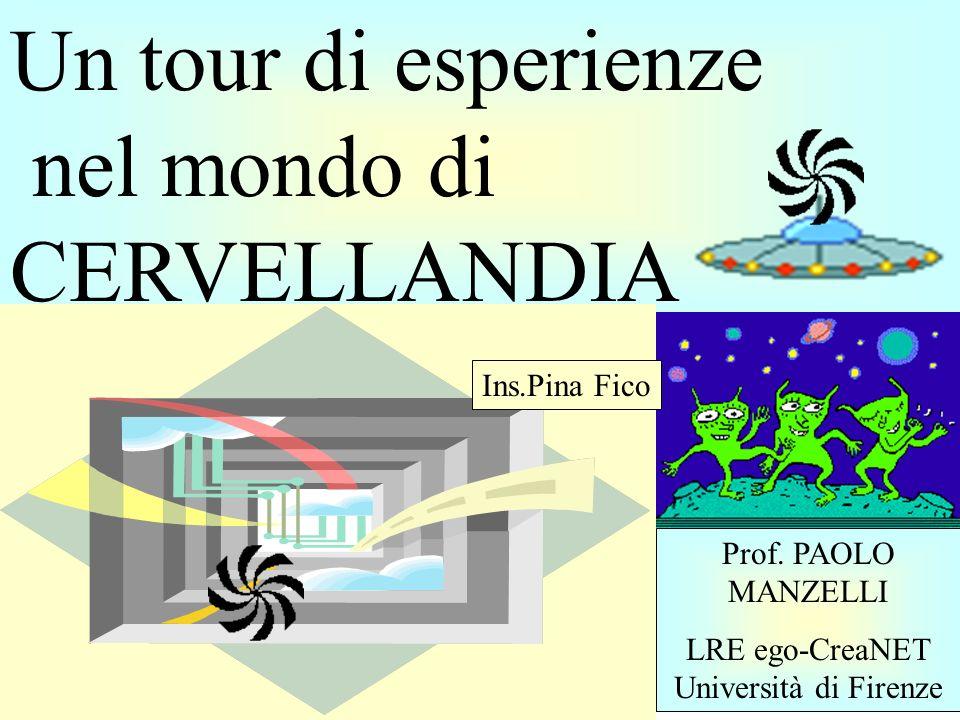 LRE ego-CreaNET Università di Firenze