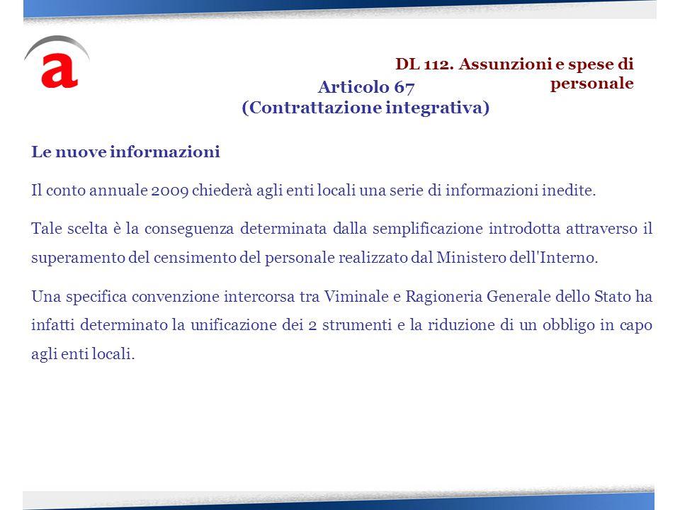 (Contrattazione integrativa)