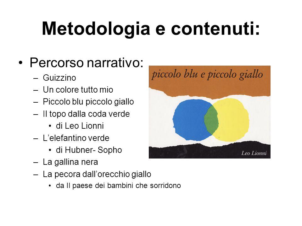 Metodologia e contenuti: