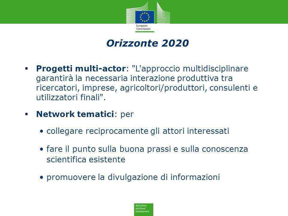 Orizzonte 2020