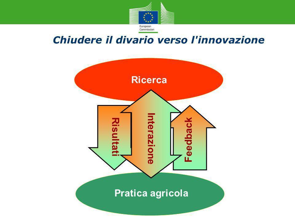 Chiudere il divario verso l innovazione