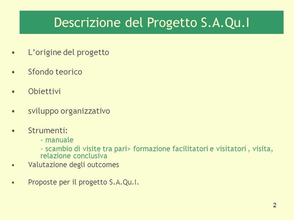Descrizione del Progetto S.A.Qu.I