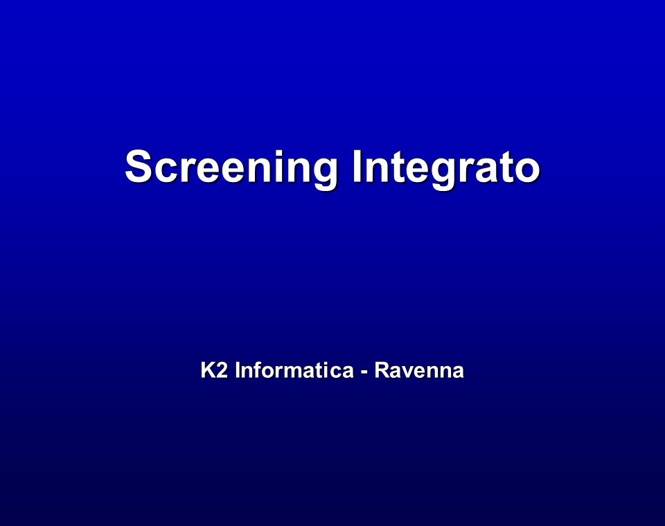K2 Informatica - Ravenna