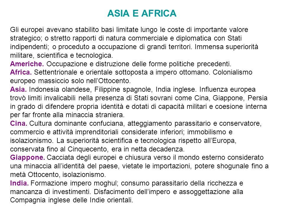 ASIA E AFRICA