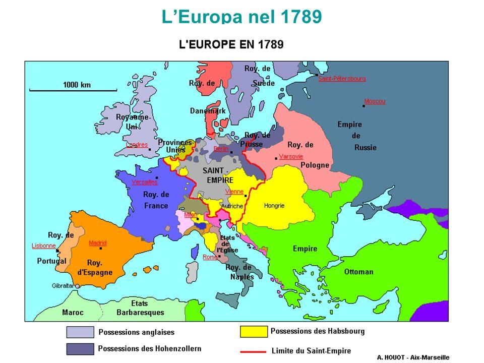 L'Europa nel 1789