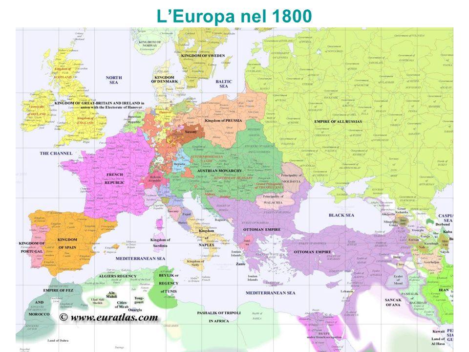 L'Europa nel 1800