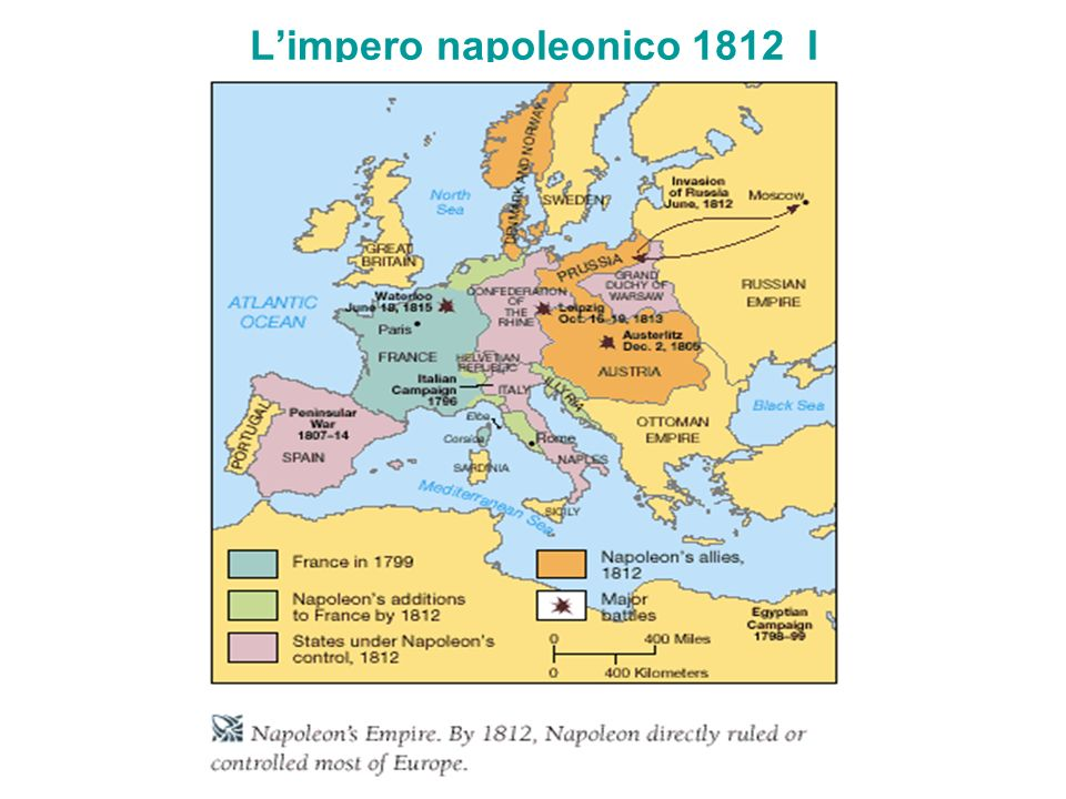 L'impero napoleonico 1812 I