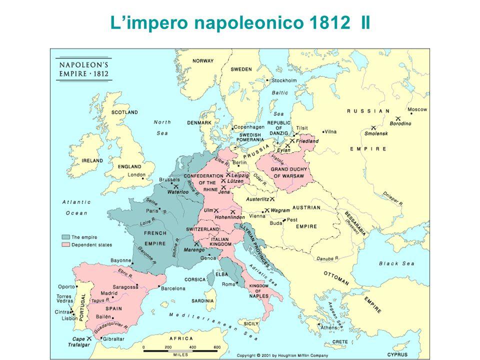 L'impero napoleonico 1812 II