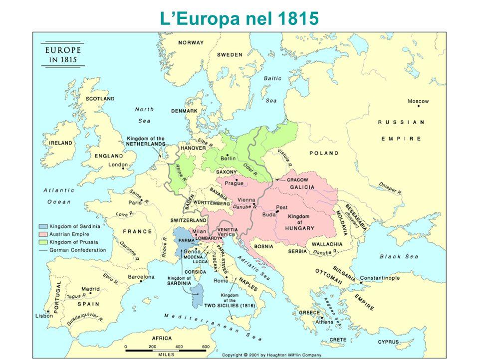 L'Europa nel 1815