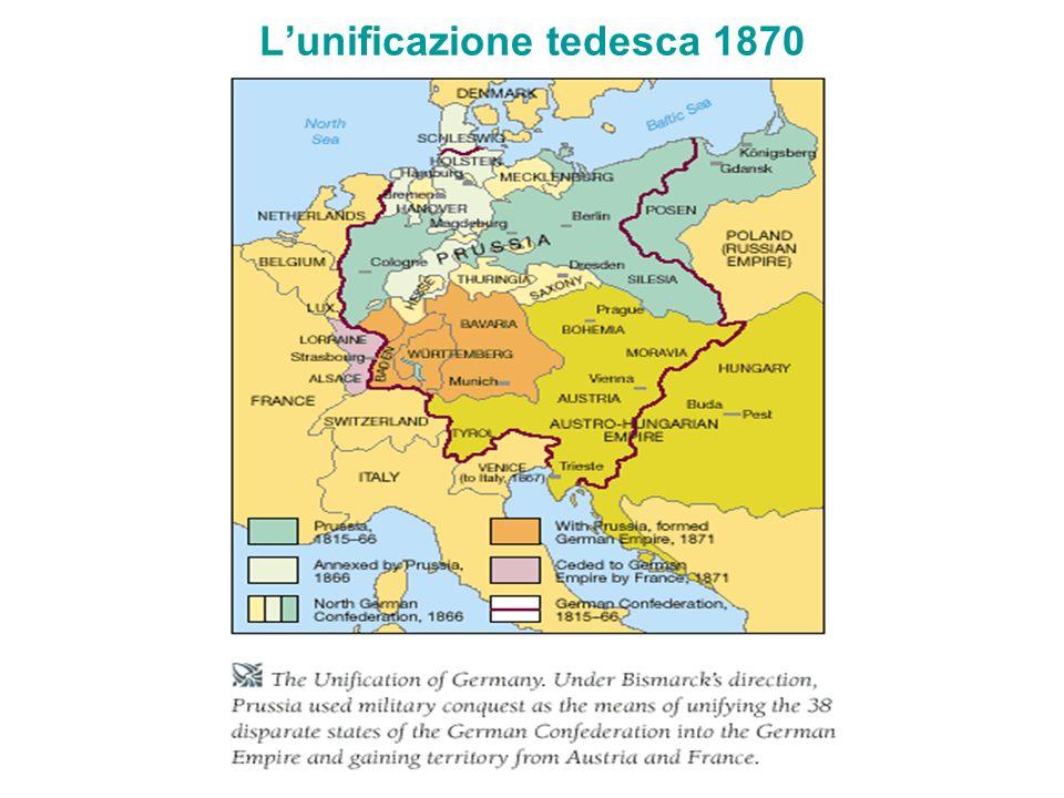 L'unificazione tedesca 1870