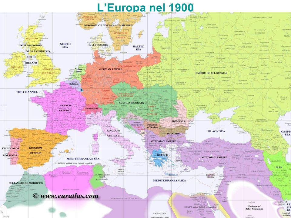 L'Europa nel 1900