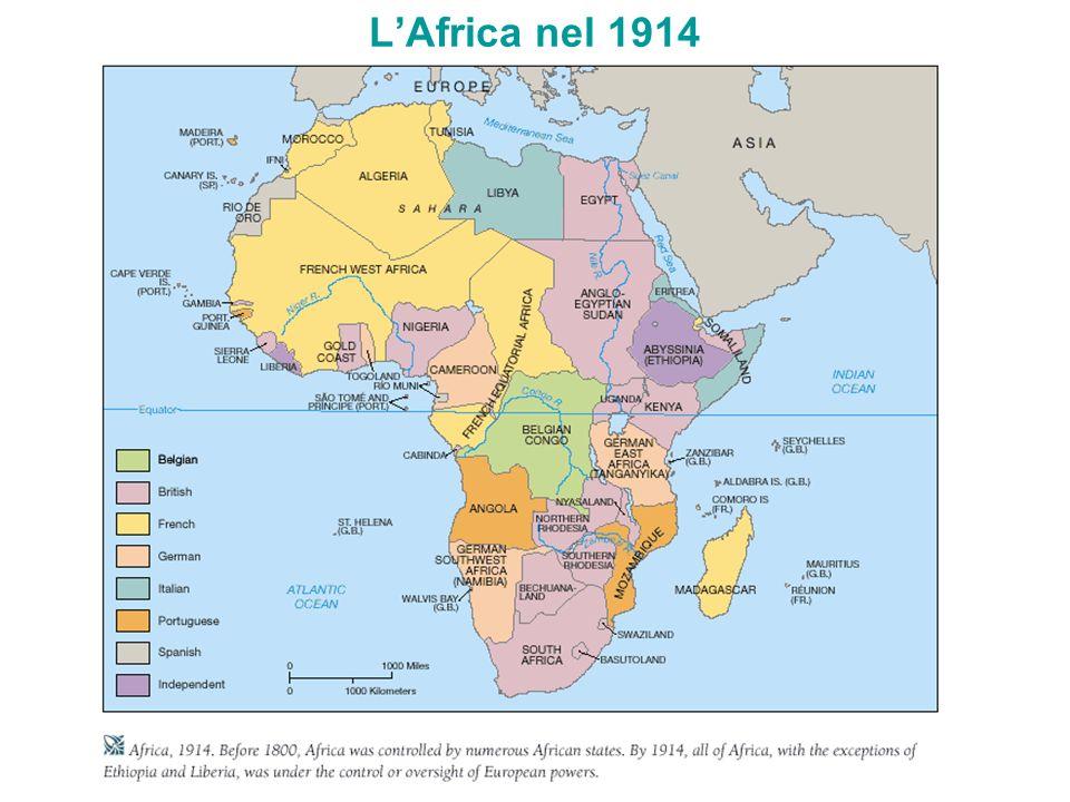 L'Africa nel 1914