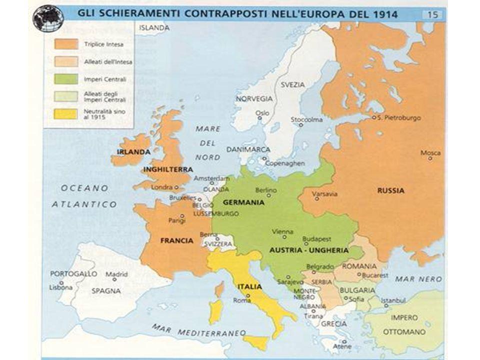 Le alleanze nel 1914 II