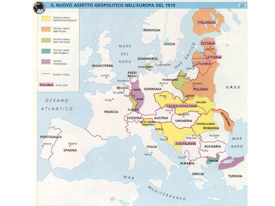 L'Europa nel 1919 I