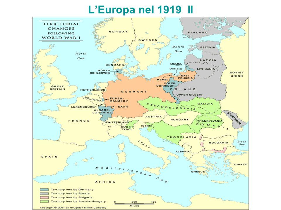 L'Europa nel 1919 II